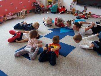 Gimnastyka korekcyjna- grupa Jeżyki