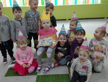 Urodziny Ninki z grupy Zajączków :)