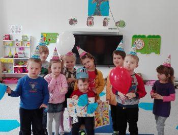 Urodziny Wiktora z Grupy Jeżyków :)