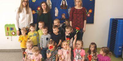 Dzień Kobiet w przedszkolu :)