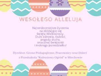 Wielkanocne Życzenia :)