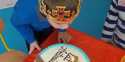 Urodziny Antosia z Grupy Jeżyków ?