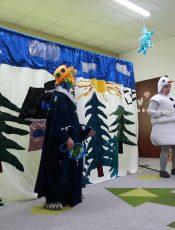 Bałwankowy teatrzyk w naszym przedszkolu ! :)